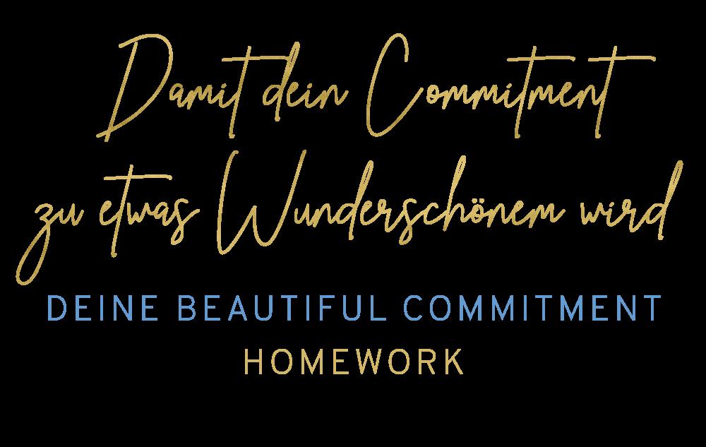 Beautiful Commitment Homework 2020