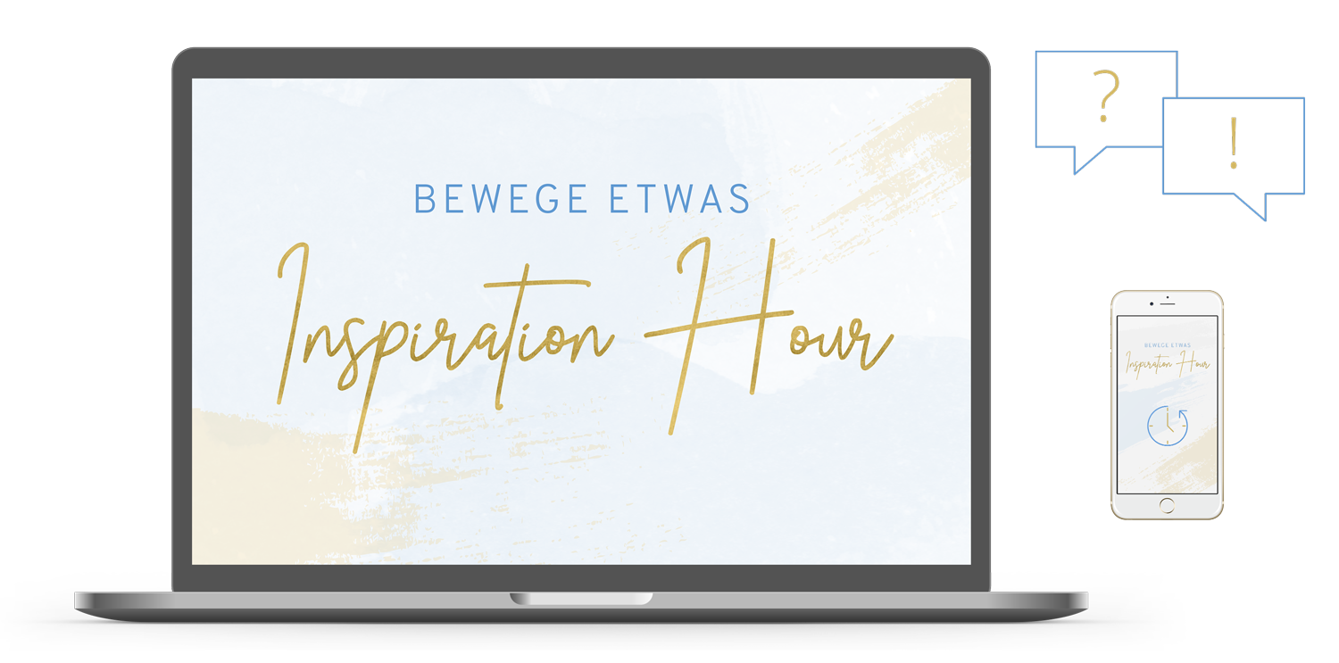 Beautiful Commitment Bewege etwas Inspiration Hour
